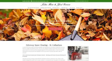 Driveway Snow Clearing St Catharines Fall Leaves & Yard Service