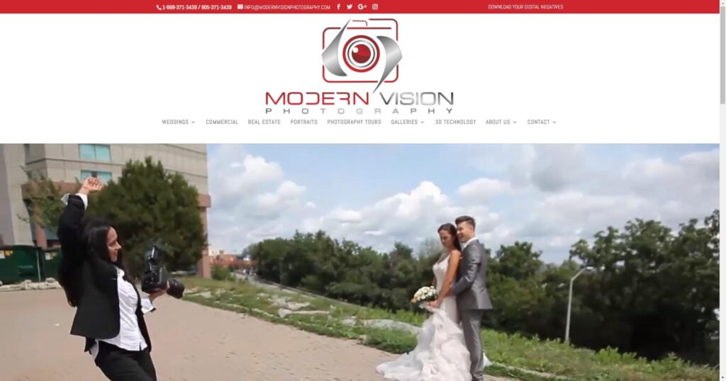 Niagara Wedding Photographer - MODERN VISION PHOTOGRAPHY