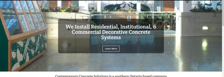 Contemporary Concrete Solutions