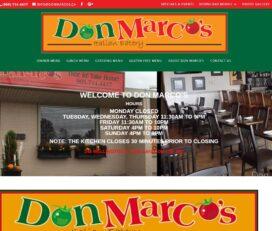 Don Marcos Italian Eatery