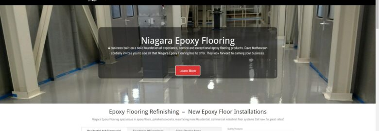 Niagara Epoxy Flooring
